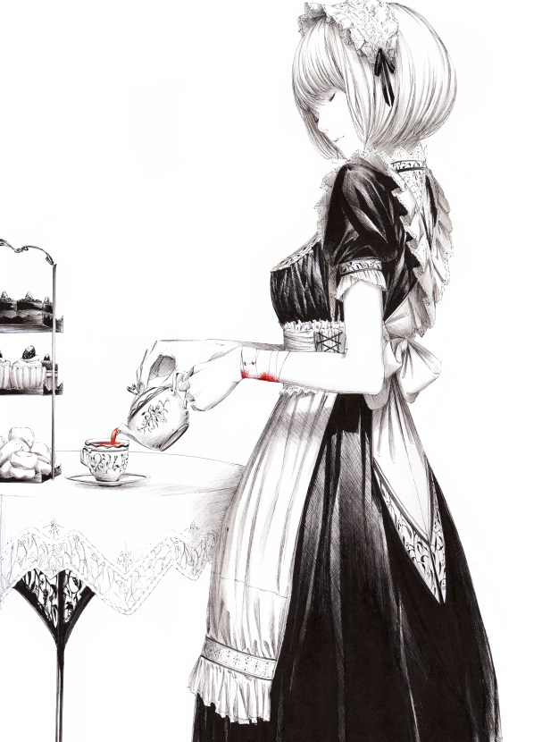 картинки девушка с короткими волосами аниме