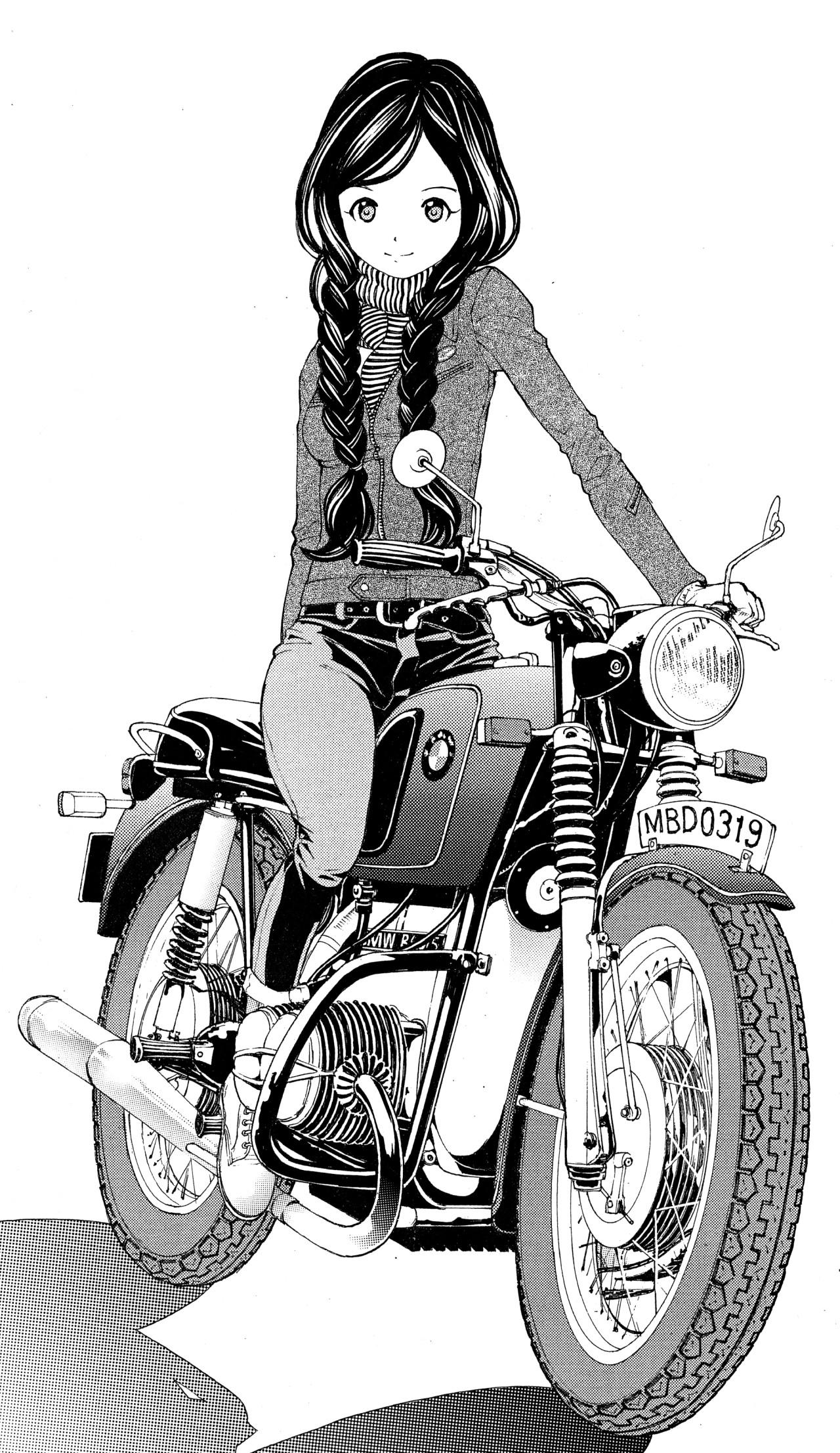 Черно белые фото мотоциклов
